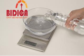 Cân điện tử KD-321 đo thể tích nước